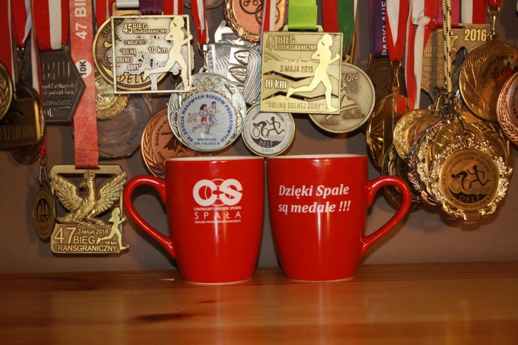 Dzięki Spale są medale
