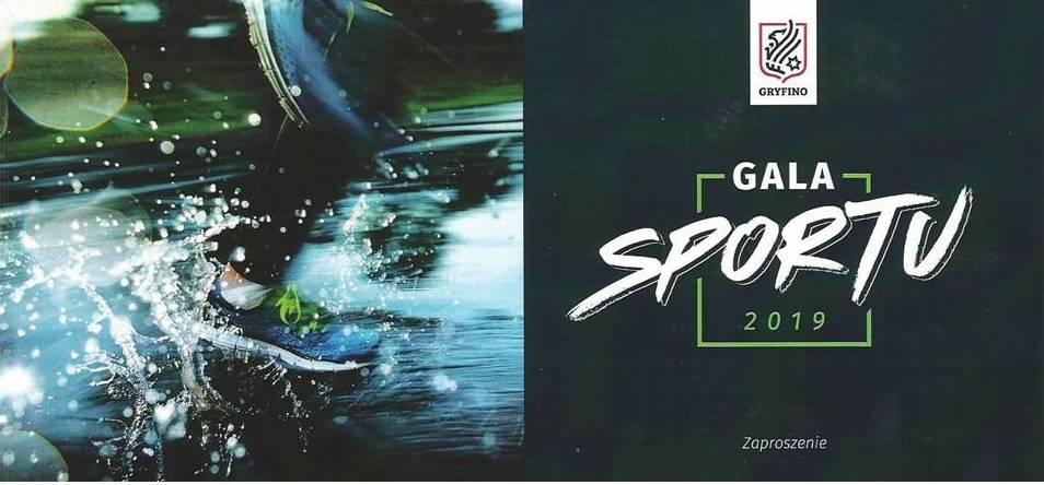 Baner reklamowy Gali Gryfińskiego Sportu 2019