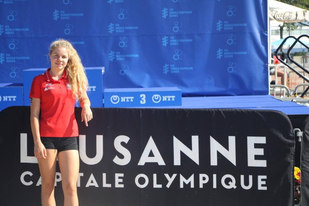 Julia Sanecka w Lozannie