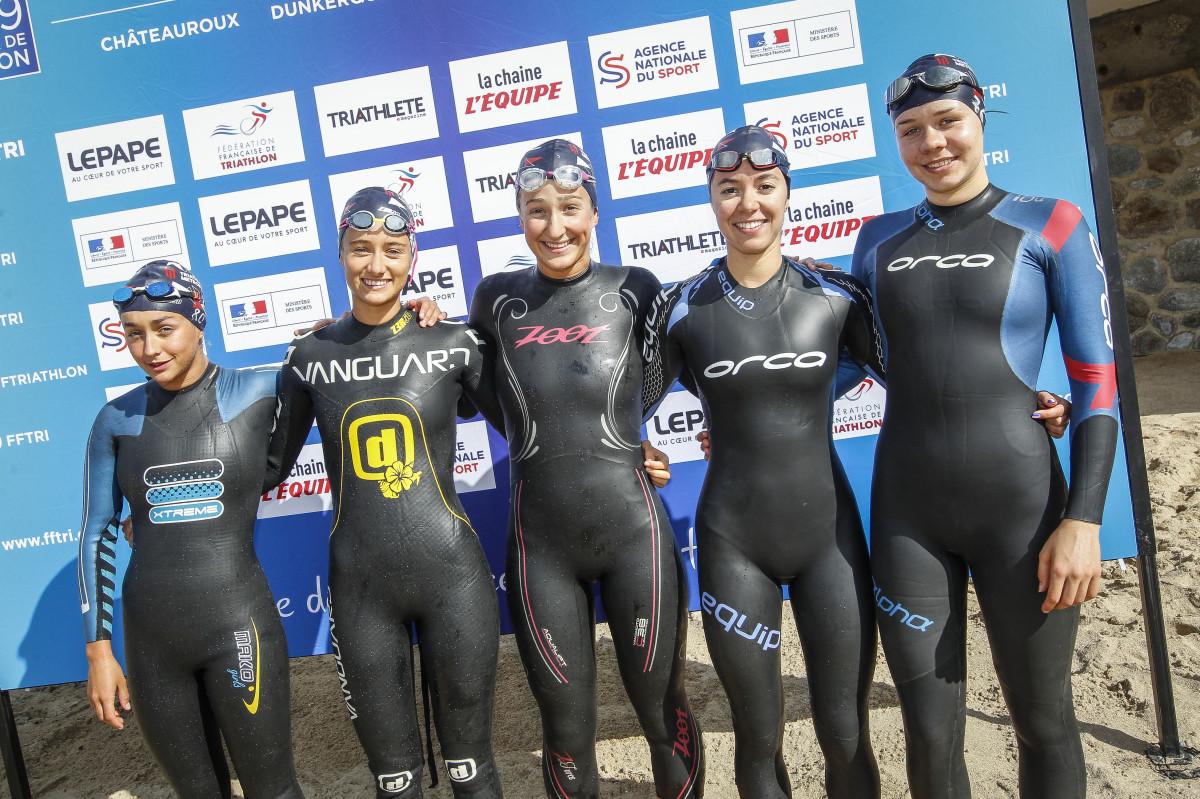 Drużyna Triathlon Toulouse Metropole w Quiberon