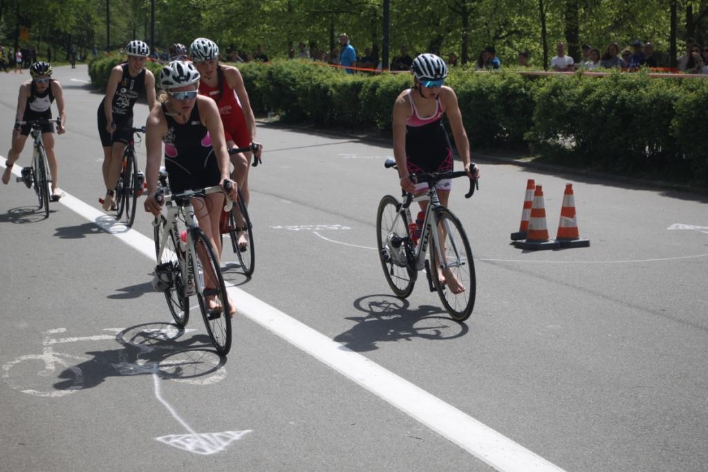 Sanecka Julia kończy jazdę rowerową