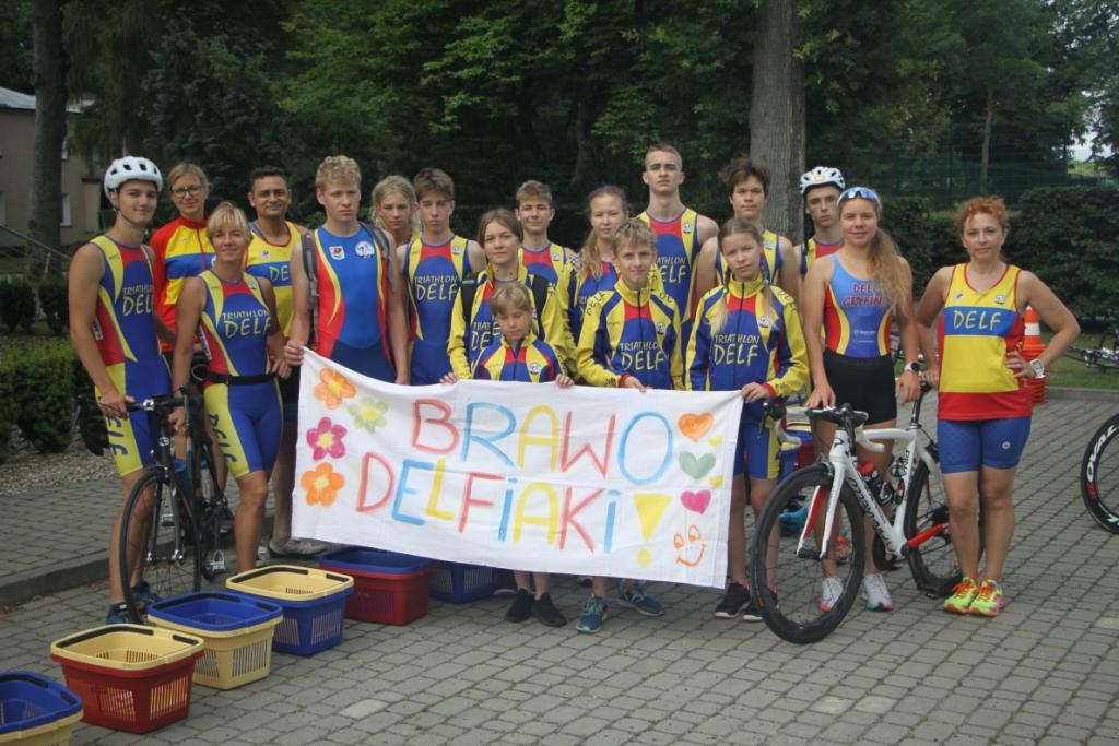 Grupa Delf Gryfino przed startami treningowymi