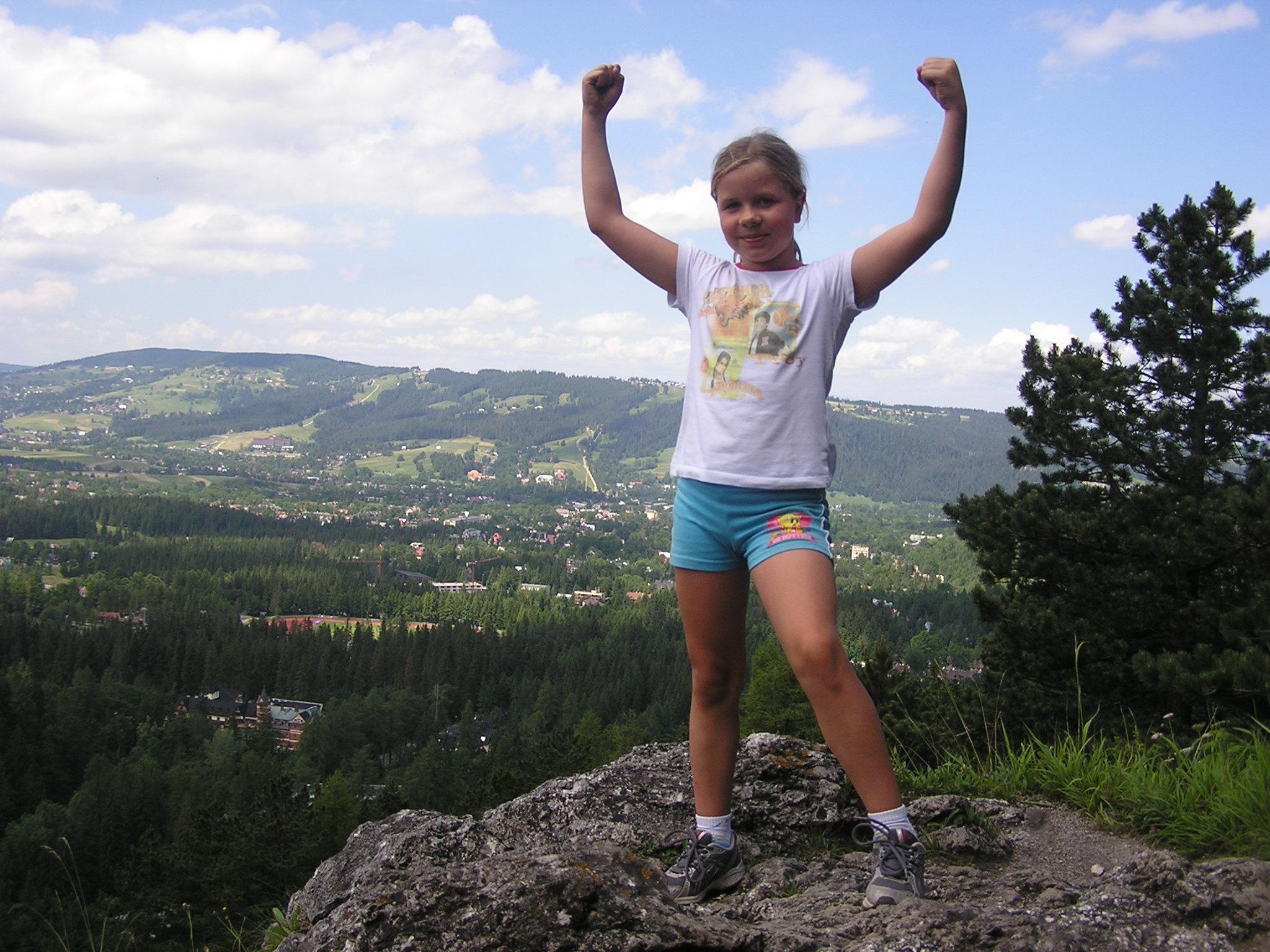 Sanecka Julia jak miała 10 lat